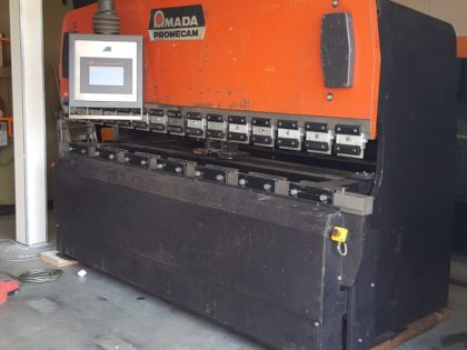 AMADA Promecam CNC Press brake retrofitting