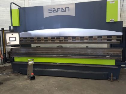 SAFAN DARLEY CNC Press Brake retrofitting upgrade