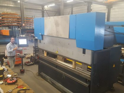 CNC Press Brake upgrade retrofit