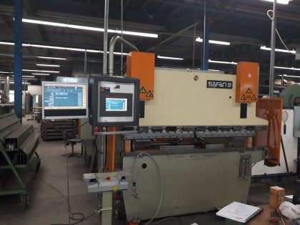 Retrofitting SAFAN DARLEY Press Brake CNC