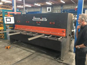 AMADA GPX retrofitted guillotuine shears