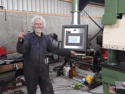 Pico Bello! LVD CNC is as good as new with our Retrofitting technologies!